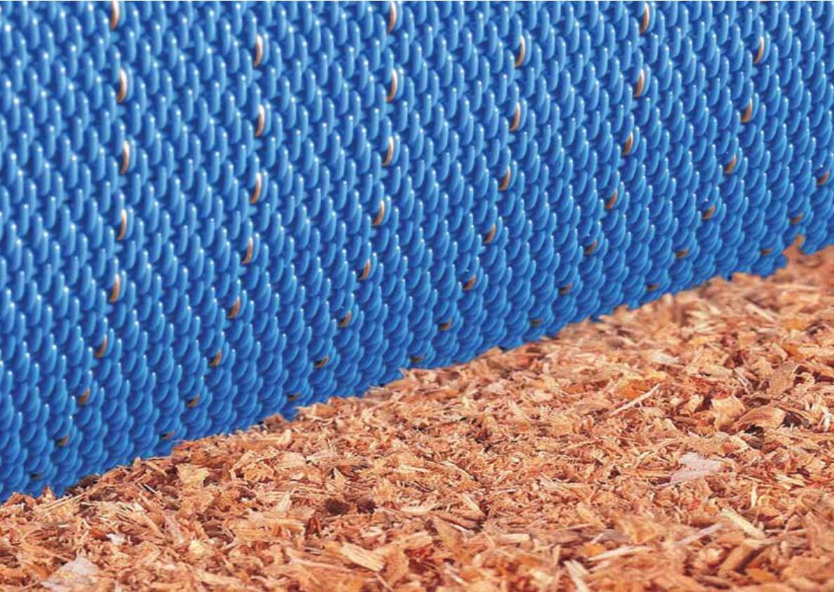 Polyester density shavings board MDF heating conveying forming belt with high wear resistance antistatic property and strength